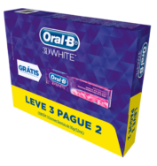 Creme Dental Oral-B 3D White 70g Leve 3 Pague 2