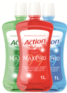 Enxaguante bucal Ultra Action MaxPro 1 litro