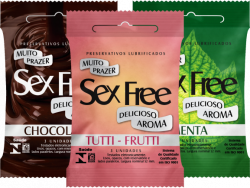 Preservativo Sex Free Leve 6 Pague 5